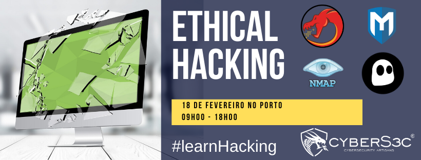 CURSO ETHICAL HACKING PORTO